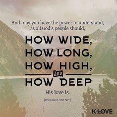 Prayer for the Readers Ephesians 3:14-21 #OurSavior #GloryBeToGod
