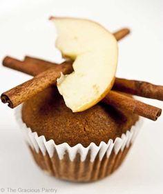 Clean Eating Cinnamon Apple Muffins