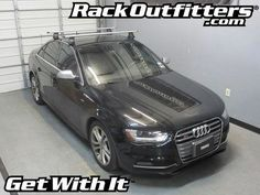 Audi S4 Thule Rapid Traverse SILVER AeroBlade Roof Rack '09-'13*