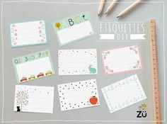 zü: Etiquettes DIY / freeprintable
