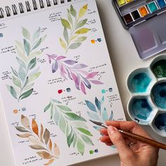 Watercolor Artwork, Watercolor Cards, Watercolor Illustration, Watercolor Flowers, Watercolour Tutorials, Watercolor Techniques, Arte Sketchbook, Flower Art, Painting & Drawing