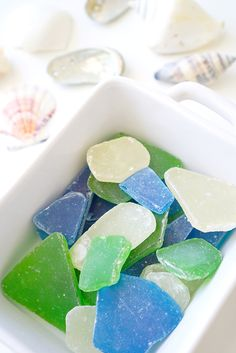 Easy Edible Sea Glass Candy - Happiness is Homemade