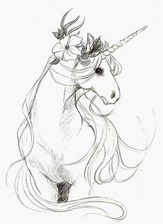 Shy unicorn by ~GARPIYA on deviantART