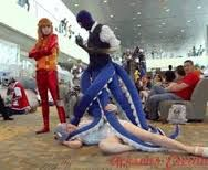 Ooh, I want those blue tentacles for my costume's lower part Octopus Costume, This Is Your Life, Steampunk Costume, Tentacle, Look At You, Halloween Costumes, Image, Blue, Halloween Costumes Uk