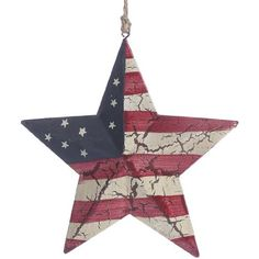 Antique Look Crackle Finish Dimensional Americana Barn Star Ornament on Jute Hanger- Package of 2 Unknown,http://www.amazon.com/dp/B00HE1LSHW/ref=cm_sw_r_pi_dp_Prqxtb19EVHECQ9V