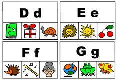 Začáteční písmena - kolíčky Playing Cards, Montessori, Learning, Speech Language Therapy, Playing Card Games, Game Cards, Playing Card