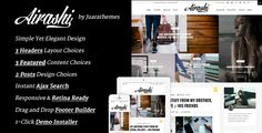 Airashi | Clean Personal WordPress Blog Theme