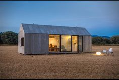 290 sq ft home for two. Great pics.