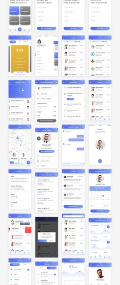 Healer is a clean mobile iOS UI kit perfect for health and doctor related applications. Healer includes 50+ high quality iOS screen templates designed in Photoshop and Sketch. This modern design template is easy to customize, making it even easier for you to design your next app!