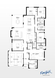 Nolan 50 new home floor plans interactive house plans for Ross north home designs