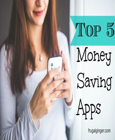 Top 5 Money Saving Apps to help you save on things you buy anyway! It's FREE money!!