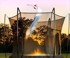 Backyard Trampoline, Tent Camping, Things That Bounce, Awesome, Shop, Fun, Outdoor Camping, Be Awesome, Camping