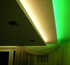 green color lighting