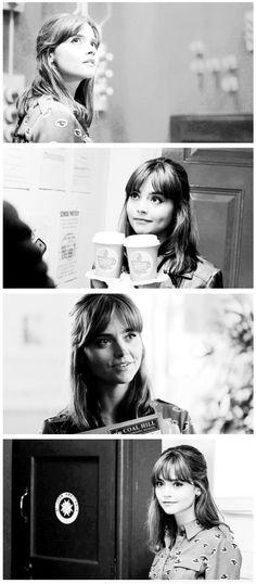 """Clara in """"Into the Dalek."""""""