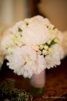 Bride's bouquet with Peony by Regalo Design