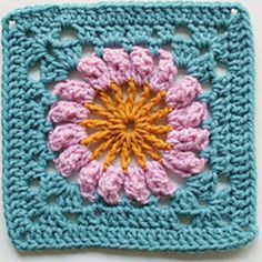 Ravelry: Project Gallery for Granny Square 69 pattern by Martha Brooks Stein