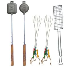 Fire Pit Cookout Set, Campfire Cooking Tool Sets