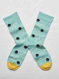 Bonne Maison Squiggle Sock | Maze Clothing