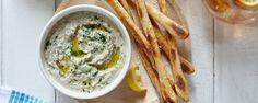 Mediterranean White Bean Dip made with Hidden Valley® Greek Yogurt Salad Dressing Mix! Sponsored by Hidden Valley #rancheverything #hiddenvalley #ad