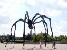 "This is my new favorite sculpture. It's called ""Maman"" and is located in Ottawa, Canada. I just love it!"