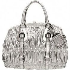 80ca96b4fafe9e Silver Bag design #Pradahandbags #pradabagprice Prada Handbags Price,  Handbags Online, Burberry Handbags