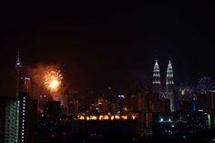 Fireworks #Goodbye 2013 #Welcome 2014 #Kuala Lumpur Kuala Lumpur, Empire State Building, Welcome, Fireworks, New York Skyline, Travel, Viajes, Traveling, Trips