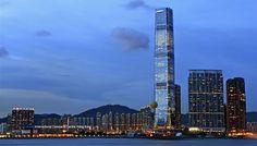 International Commerce Centre - Hong Kong - 484 m - 118 floors - 2010