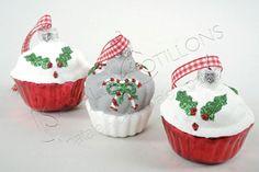 ADDOBBI E PALLINE NATALIZIE, Pasticcini in vetro con nastrino, NATALE - Christmas Store