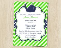 ocean preppy boy baby shower - Google Search