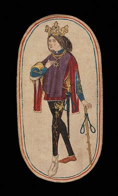 King of Nooses, from The Cloisters Playing Cards | South Netherlandish | The Met