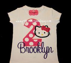 Hello Kitty Birthday shirt