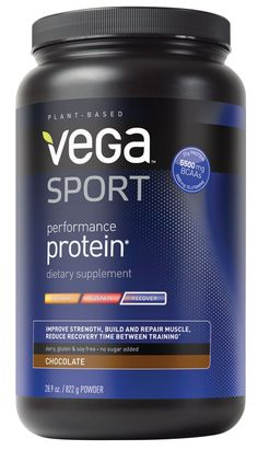 Chocolate vega protein powder