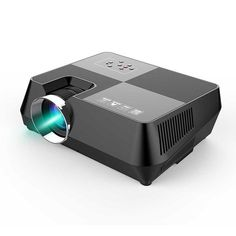 Buy Wallmart.win Black LCD Multimedia Video Projector Home Theater with GT-S8 60W 4 inch Remote Controller Built-in S: Vendor: SNK Type:…