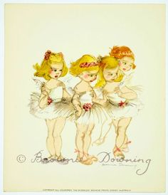 Print - ballet 8 - Brownie Downing | Artist & Illustrator | Official Site