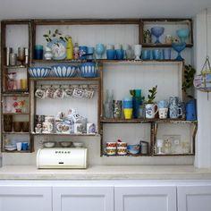 Kitchen shelving ideas: kitchen ideas | Red Online