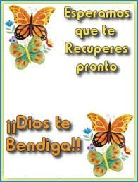 Bildergebnis für que dios te sane Good Day Wishes, Get Well Wishes, Get Well Quotes, Feel Good Quotes, Condolences Quotes, Christian Warrior, Spanish Greetings, Happy Thanksgiving Day, Morning Greeting