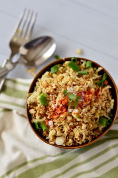 Easy Oven-Roasted Cauliflower Rice | Real Food with Dana