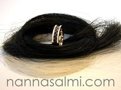 Horsehair, Rings For Men, Ribbon, Collections, Check, Gold, Jewelry, Tape, Men Rings