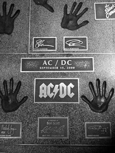 AC/DC • Walk of Fame London, England September 25, 2000
