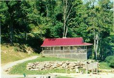 """Baby's"" cabin in Dirty Dancing ... Lake Lure, NC"