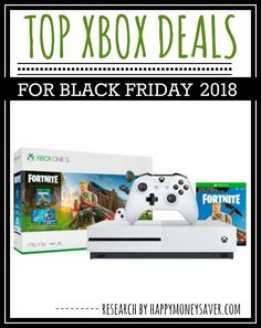 69ff7c7f4bf HUGE roundup of all the Xbox One Black Friday deals for 2018! Research is  all done for you! You re gonna love this if you love saving money!   blackfriday ...