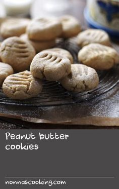 Paul Rankin's easy recipe for soft, buttery cookies takes less than half an hour. Delicious Cookie Recipes, Peanut Butter Recipes, Easy Cookie Recipes, Easy Recipes, Easy Meals, Yummy Food, Butter Cookies Recipe, Peanut Butter Cookies, Yummy Cookies