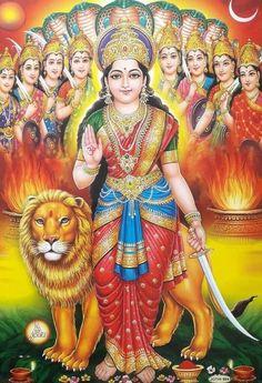 Durga Maa, Durga Goddess, Mother Kali, Shri Yantra, Hare Krishna, Indian Gods, Gods And Goddesses, Deities, Princess Zelda