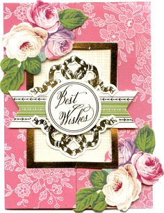 Autoship in October   Fancy Flips   Birthday, Wedding, Anniversary, Celebration and Thank you cards   Feminine palette, dainty flowers and fancy foil flourishes in this kit