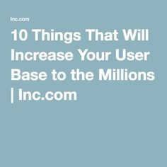 Ethan Smith of Yummly tells how he increased his user base from 0 to 15 million users in 5 years, and how you can too. The Millions, Base