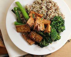 Recipe: Broccolini with Tofu, Sesame and Coriander