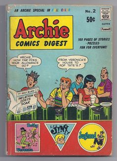 Beautiful 1973 Archie Editions HÉritage Canada Jughead #18 In French Free Shipping Comics