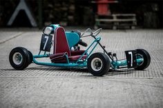 """British Racing Icon Barrie """"Whizzo"""" Williams' Car Collection To Be Auctioned At Silverstone Classic Go Kart Frame Plans, Go Kart Plans, Vintage Go Karts, Diy Go Kart, Go Car, Quad Bike, Karting, Porsche Cars, Mini Bike"""