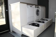 "Visit our web site for even more information on ""laundry room storage ideas diy"". It is an excellent area to find out more. Laundry Room Storage, Laundry In Bathroom, Closet Storage, Storage Room, Storage Drawers, Storage Ideas, Garage Storage, Room Interior, Interior Design Living Room"