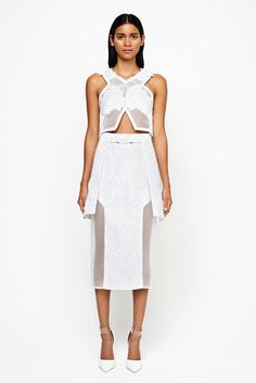 Jonathan Simkhai Spring 2015 Ready-to-Wear - Collection - Gallery - Look 1 - Style.com